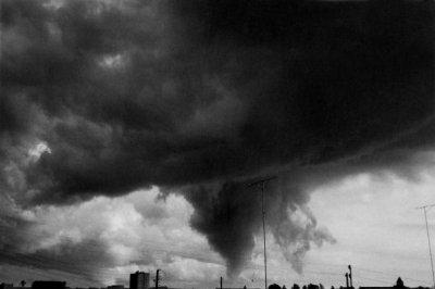 Une tornade à Evreux le 4 mai en 1961 type F3 .