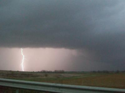 Un orage à vivion le 14 novembre 2009 .