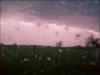 Un orage à Saint marceau le 24 mars 2010 .