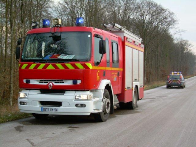 les pompiers antho et moi