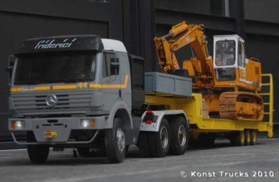 a vendre semi-remorque transport engins de chantier