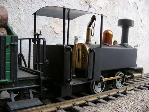 (VENDUE) locomotive à vapeur vive pour voie LGB