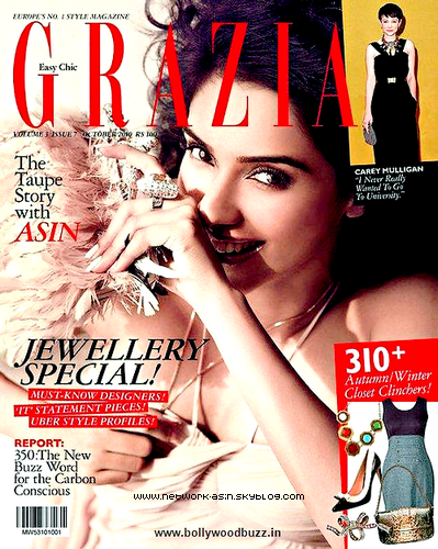 ASIN IN GRAZIA MAGAZINE (OCTOBER 2010)