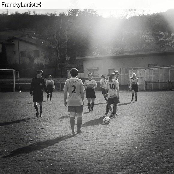 Mon soutien au foot féminin n'est sans fin By FranckyLartiste