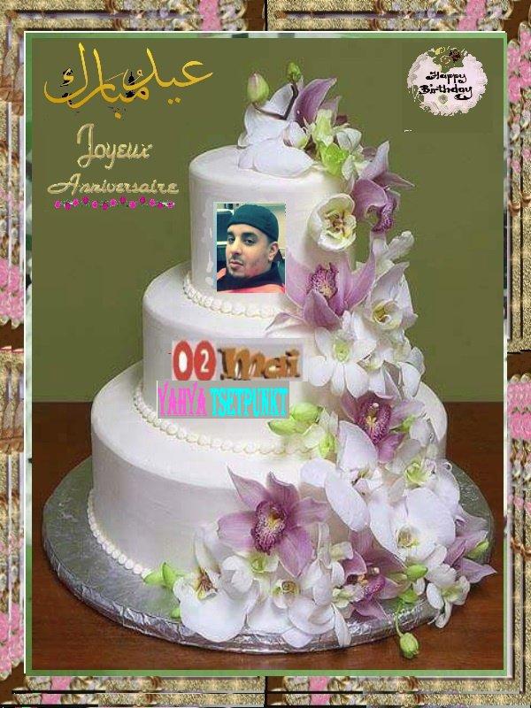 joyeux anniversaire  Hj Yahya Zirar !