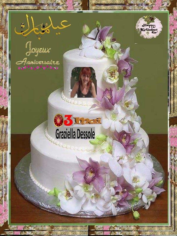 joyeux anniversaire Graziella !