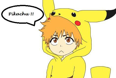 ichigo en pikachu