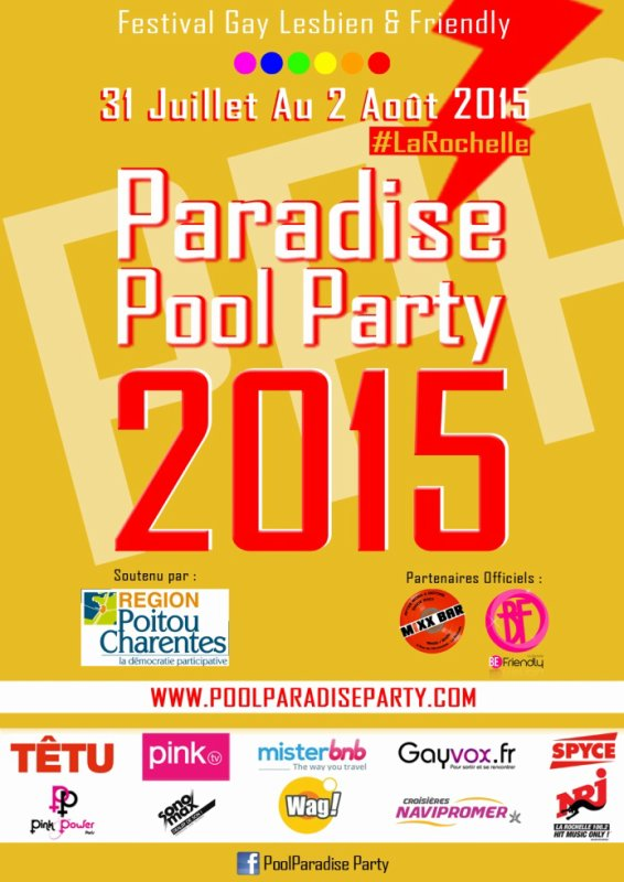 Festival Pool Paradise Party 2015