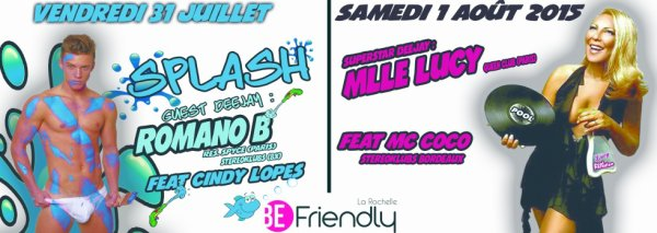 SOIREES DU FESTIVAL POOL PARADISE PARTY 2015