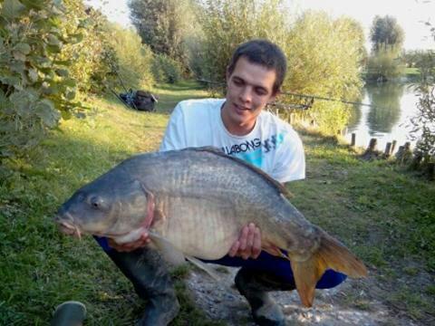 Nouveau record ;) 15, 6 kg  de bonheur ;)