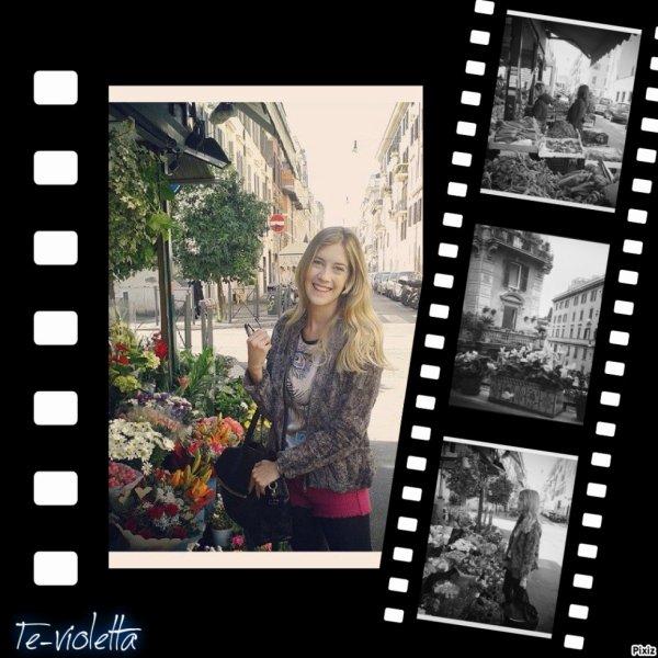 Angie à Rome <3
