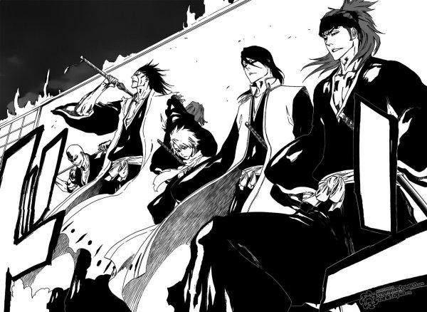 <BLEACH SCANS> - Enfin le retour! (du moins mon retour <_<) BLEACH le meilleur manga bien sur :]