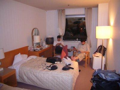 petit hôtel trankil pas loin de la plage le cap c'est top