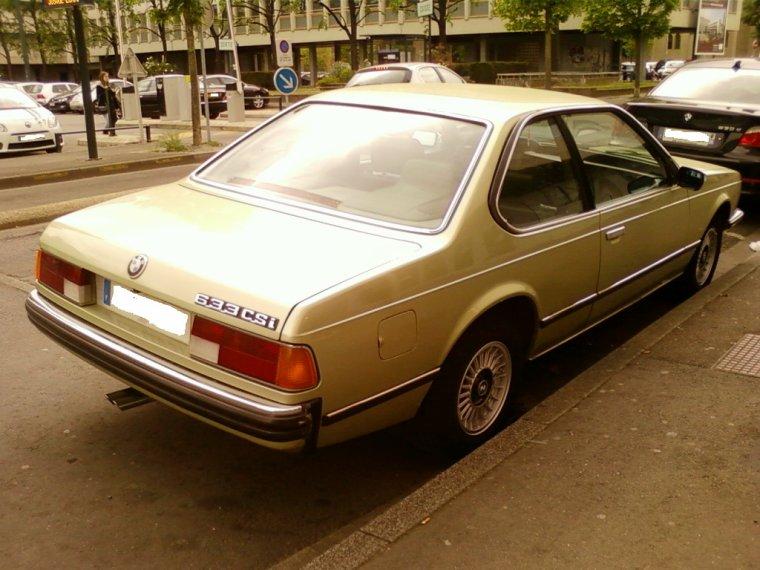 // BMW 633 CSI //