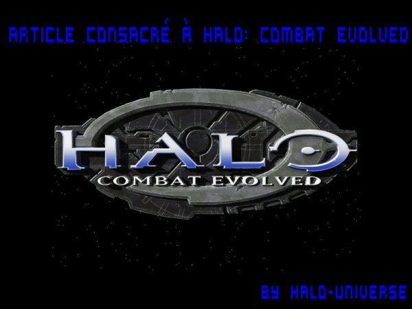 Article Consacré à Halo: Combat Evolved