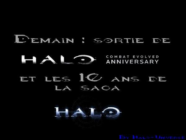 Demain : 10 ans de Halo :D