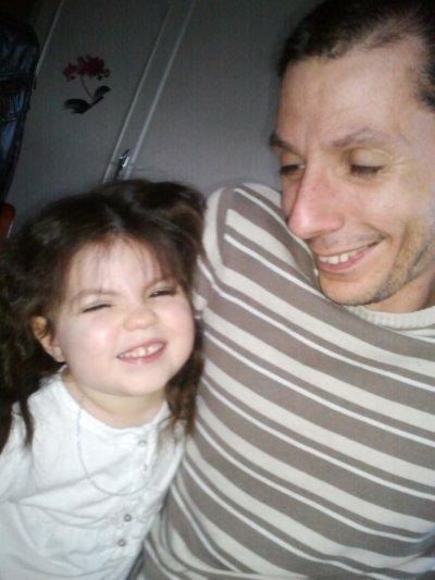 MA fille et moi que du bonheur
