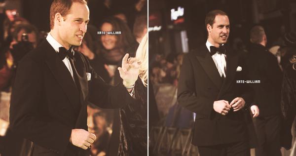 """* 12/12/12 : William s'est rendu à l'avant-première du film """"The Hobbit""""*"""