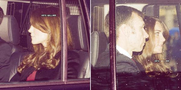 """* 19/12/12 : Notre joli couple princier s'est rendu à un """"Christmas Lunch"""" organisé par la reine Elizabeth.*"""