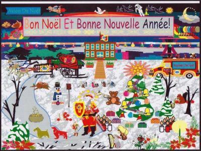 Carte De Noël: