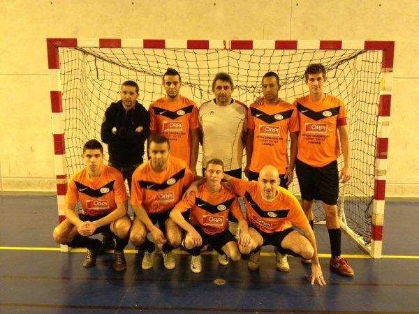 FC NICE WEST FUTSAL 4 CANNES FUTSAL 5