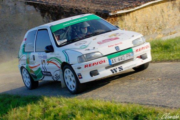 Rallye Cotes de Garonne 2012