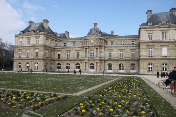 Fin du parcours au jardin du Luxembourg