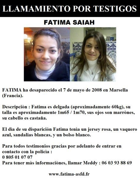 Aider ns a retrouvé la petite Fatima