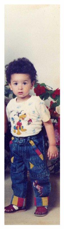 moi quand j'avais 2 ans!! (26 juin 1989)