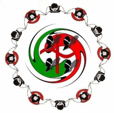 "Symbole du Groupe Folklorique sarde (Italie-Italia-Italy)   ""Su Nuraghe"" - Belgique"