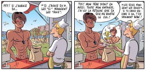il pourrait bien détrôner jenny ce Jean-Franky .... ( extrait tome 6 )