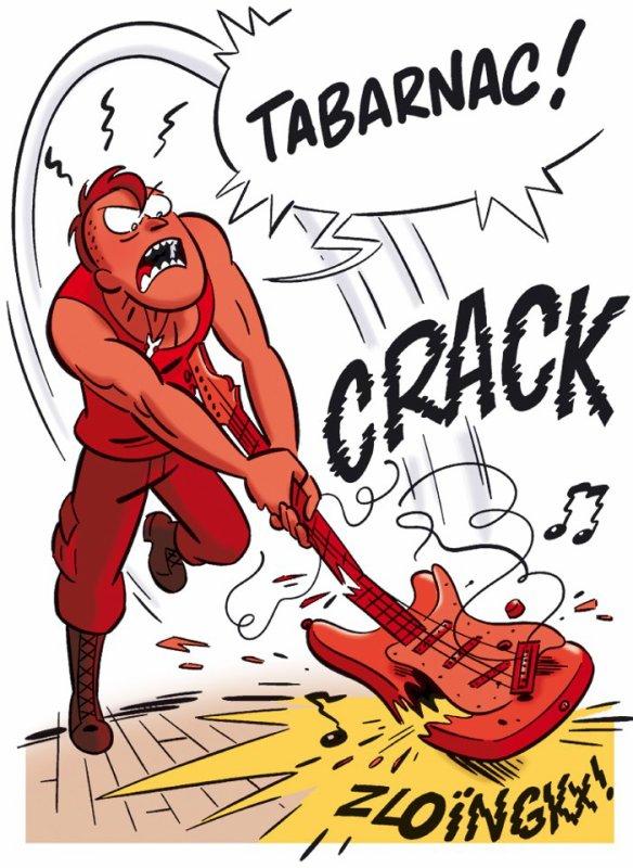 Extrait du tome 6 : Quand Gary est fâché, il trahit ses origines...