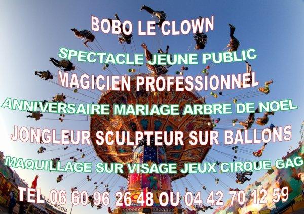 clown anniversaire aix en provence animation anniversaire Aix en provence
