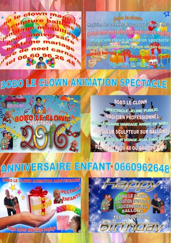 Meilleur clown Marseille Meilleur magicien Marseille boboleclown