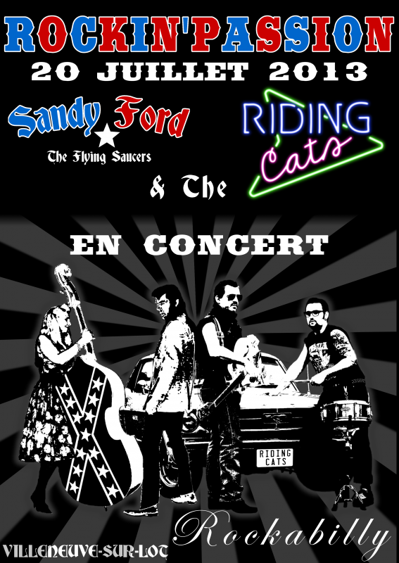 SANDY FORD AND THE FLYING SAUCERS