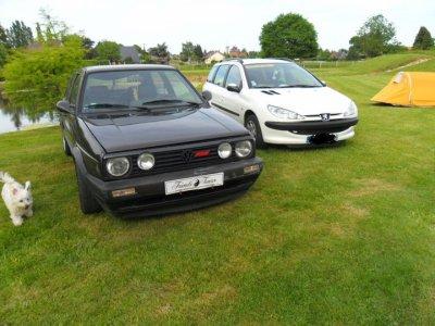 les voitures du club a notre meeting