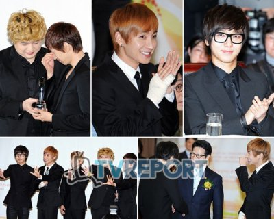 Photos de cette semaine 07.02.11 : 6 WINNER IN GAON CHARTS AWARDS !! !! !! !!