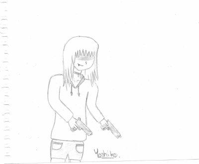 Bonus : Miyu-chan, en mode... - Yoshiko.