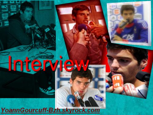 Ce soir, Interview de Yoann Gourcuff dans le CFC.