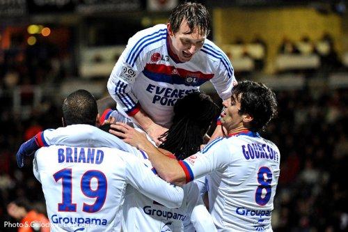 Match Ligue1 / 17ème Journée / Lorient - Lyon  (0- 1 )