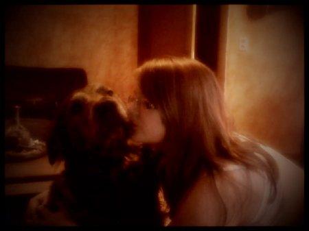 L'amour entre mon chien et moi ses si exeptionnel...