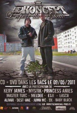 Studdah Man, producteur de Public Enemy, rencontre le Koncept au Havre
