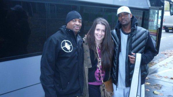 Chuck D, Tijana Bass & Studdah man