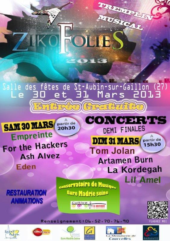 Lil Amel en concert le 31 mars  aux Zikofolies