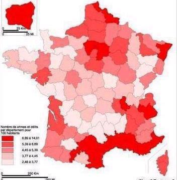 Ville Au Plus Haut Taux De Criminalit Ef Bf Bd De France
