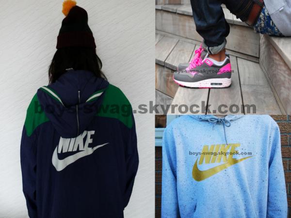 Nike sous toutes ses formes ...