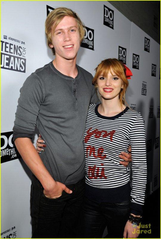 Bella et tristan était au Teen for Jean le  janvier 2013 !!!