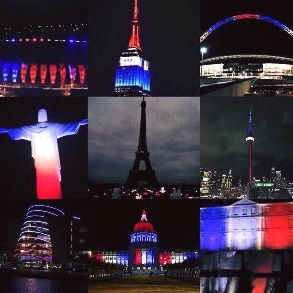 Ouah triste la Tour Eiffel éteinte