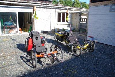 Notre tour vélo 2011
