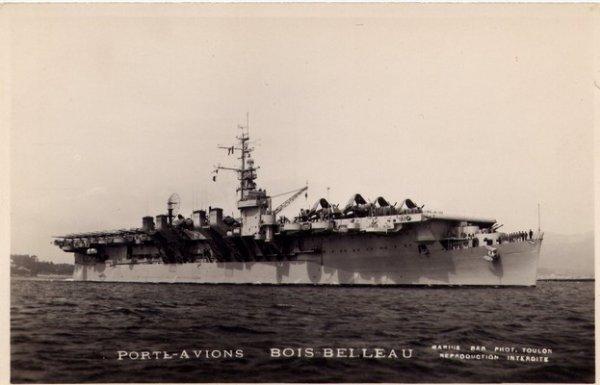 """Marine""  -  Porte-avions Bois Belleau"